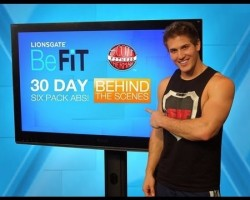 BeFit- 30 Day Six Pack ABS (BEHIND THE SCENES!)