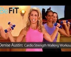 Denise Austin: Cardio Strength Walking Workout