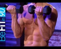 Ripped Abs & Arms Workout by BeFit in 90