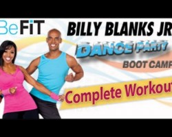 Billy Blanks Jr: Dance Party Bootcamp Cardio Workout- Full Fitness Routine