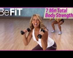 7 Min Total Body Strength & Toning Workout: Level 2- Denise Austin