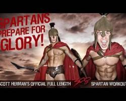 "The Official FULL Length ""300 Spartan Workout"" ft. Scott Herman"
