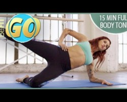 15 Min Full Body Tone Mobile Workout: BeFiT GO