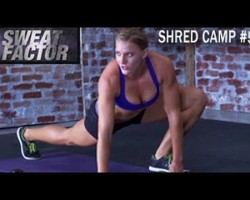 Shred Camp Full Body Partner Workout #5: Sweat Factor- Maddy & Amanda