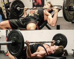 Incline Barbell Bench Press VS. Reverse-Grip Bench Press | WHICH BUILDS A BIGGER UPPER CHEST?