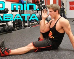 10 Minute Home – BODYWEIGHT TABATA – Weekend Workout!   STAY LEAN WHILE BUILDING MUSCLE!