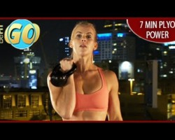 Bootcamp Plyo Power Workout: 7 Mins- BeFiT GO