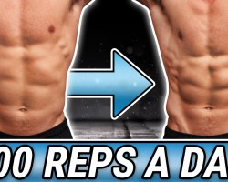 30 Day – 400 Reps A Day Challenge!   BUILD UNBELIEVABLE 6 PACK ABS!!