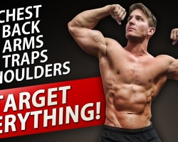 UPPER BODY DUMBBELL WORKOUT!   BUILD AN AMAZING UPPER BODY AT HOME!