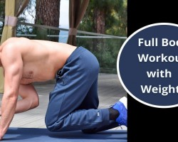 Full Body Workout with Weights – Dumbbell Workout – Gain Muscle