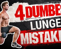 4 Dumbest Lunge Mistakes Sabotaging Your QUAD / LEG GROWTH! STOP DOING THESE!
