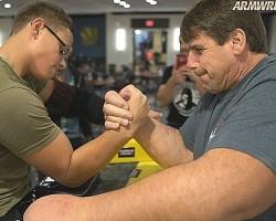 Arm wrestling at PAF Championship 2018