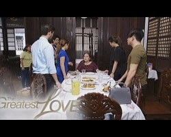 The Greatest Love: Gloria's children learn about her disease   Episode 93