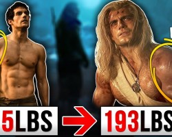 """Henry Cavill """"Witcher"""" Workout & Diet!   ANOTHER MEN'S HEALTH GIMMICK?"""