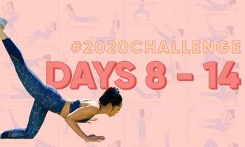 Day 8 – 14 | Blogilates 2020 Challenge