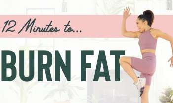 12 Minutes to Burn Fat – Low Impact Cardio Workout